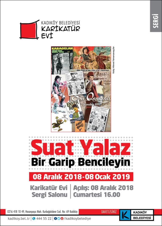 Karaoğlan çizgilerinin yaratıcısı Suat Yalaz Karikatürevi'nde