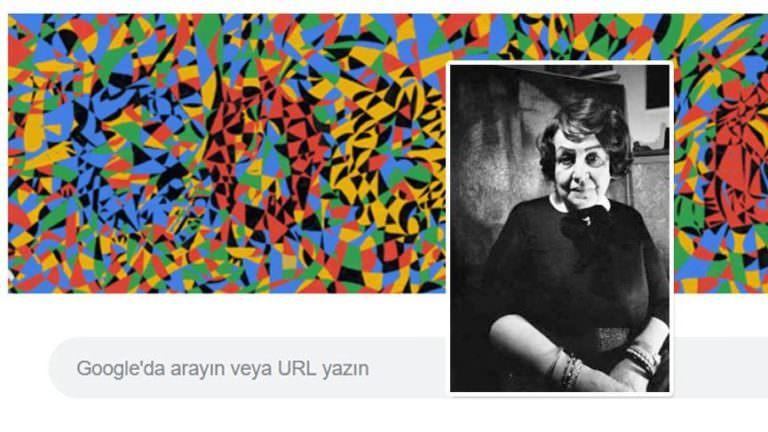 Google Türkiye'den vefa: Ressam Fahrelnissa Zeid'in doğum gününü unutmadı