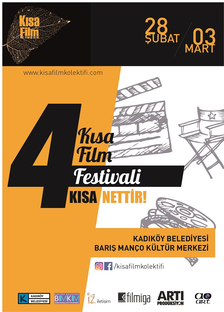"""4. Kısa Film Kolektifi Festivali – """"Kısa Nettir"""" başlıyor"""