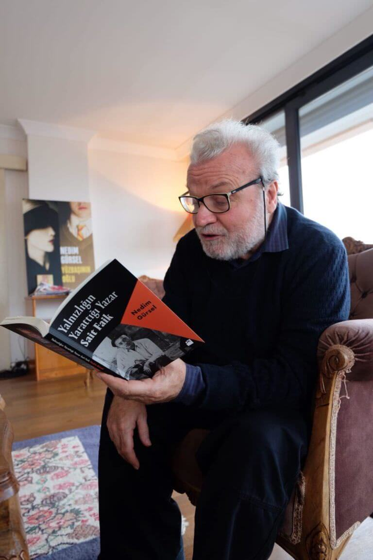 Yazar Nedim Gürsel'le 'uzun sürmüş' bir öğle vakti