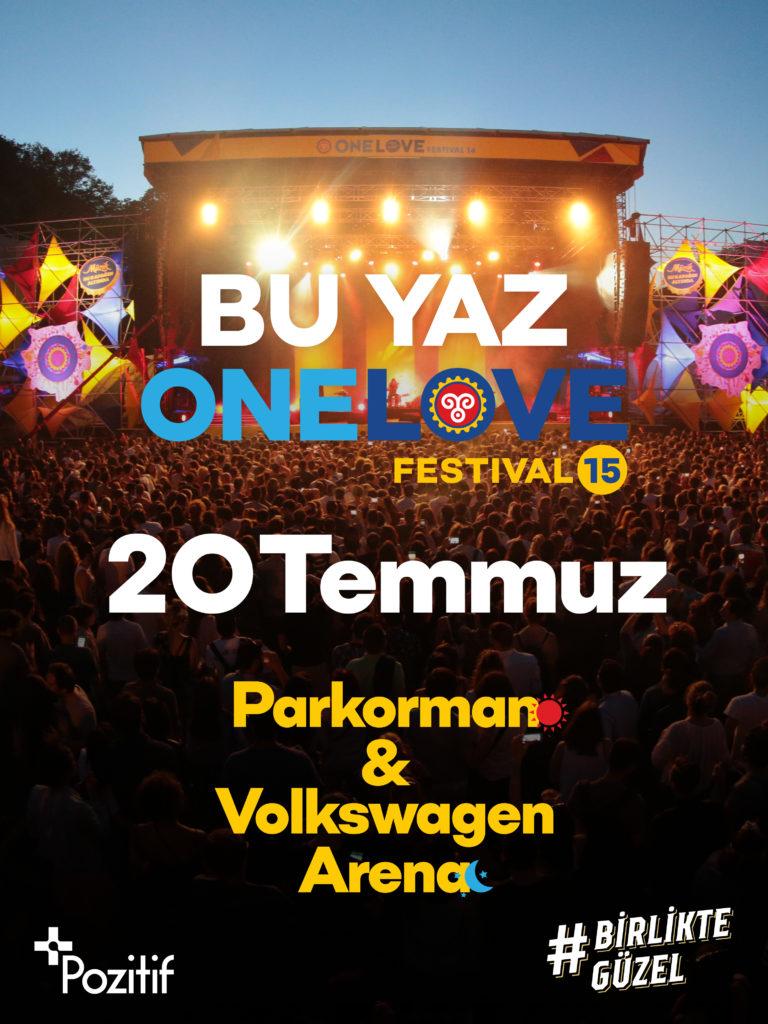 Özlediğimiz festival One Love geri dönüyor