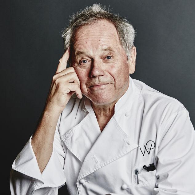 Michelin yıldızlı şef Wolfgang Puck, Spago'da