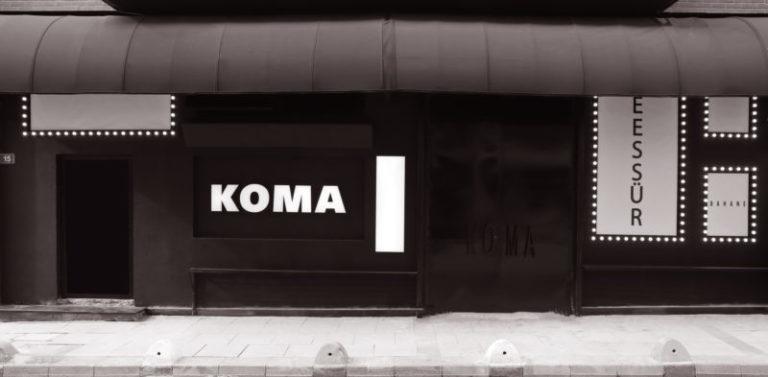 Yeni bir etkinlik adresi: Koma'ya hoş geldiniz…