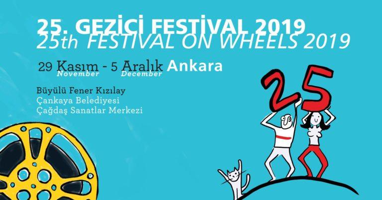 Gezici Festival, 25. yılında gezmeye devam ediyor