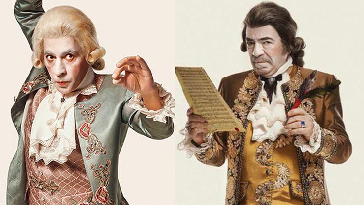 Ve karşınızda Mozart Okan Bayülgen, Salieri Selçuk Yöntem