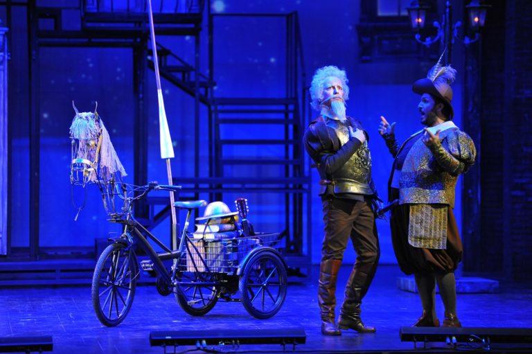 Ve Don Quichotte Operası bu sezon da Kadıköy Süreyya Opera Sahnesi'nde…