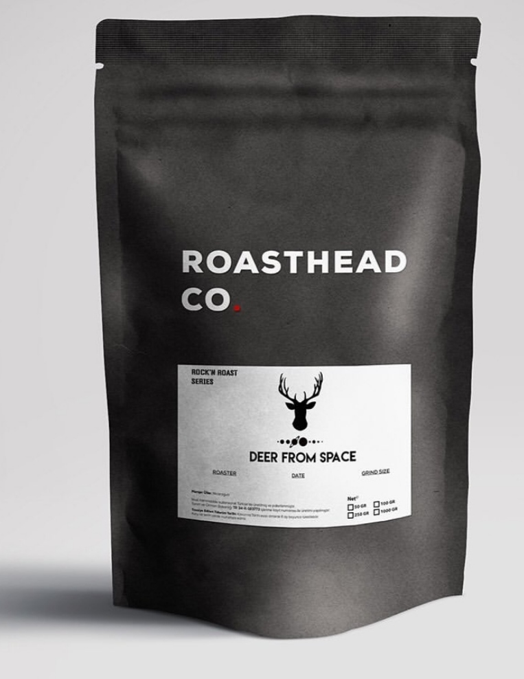 Deer From Space grubuna özel kahve