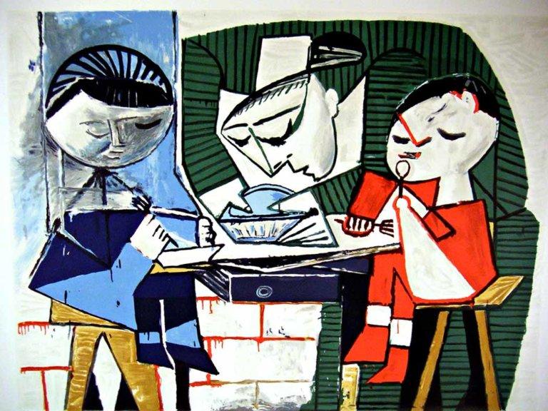 Picasso İstanbul'da sergisi şimdi dijitalde