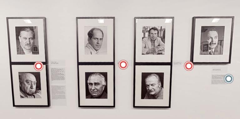 """""""Lütfi Özkök: Portreler"""" sergisine sanal tur yapabilirsiniz"""