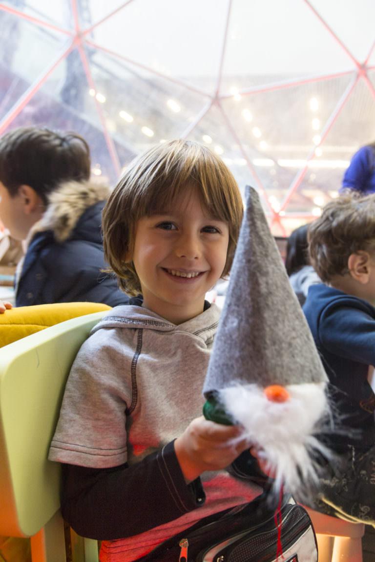 Çocuklara en güzel yeni yıl hediyesi: Sihirli Çocuk Atölyeleri