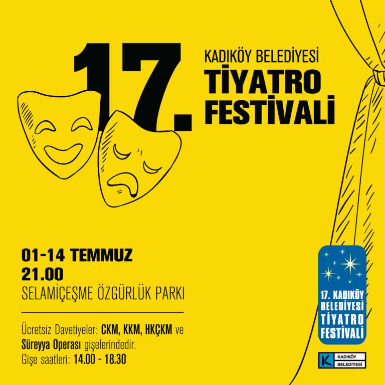 Tiyatroda da festival zamanı: 17. Kadıköy Belediyesi Tiyatro Festivali başlıyor