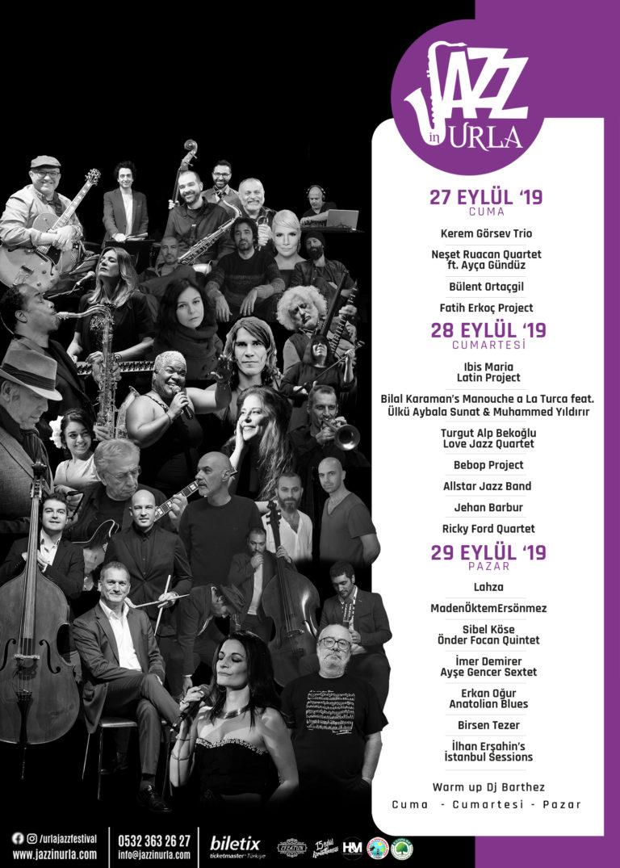 Cazlardan caz beğen… Ve artık Urla Jazz Festivali de var!