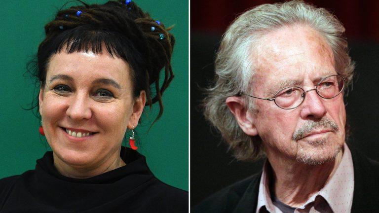 Nobel Edebiyat Ödülü sahipleri Olga Tokarzcuk ve Peter Handke