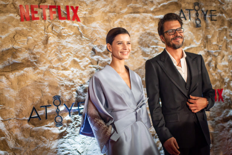'Atiye' dizisi gösterişli bir gala yaptı
