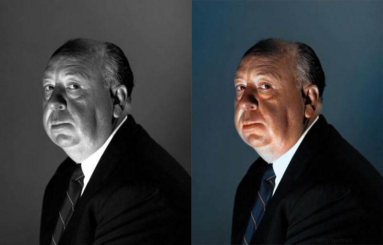 "Alfred Hitchcock'un ""renkli"" filmleri"