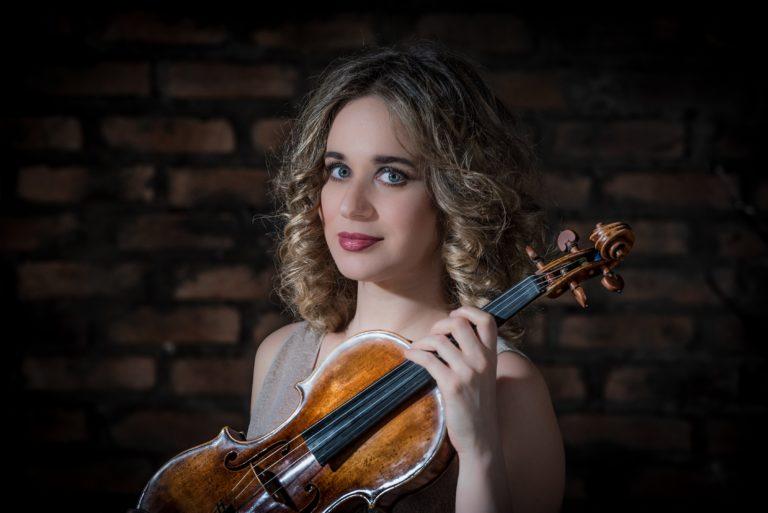 Kemancı Anna Tifu, Tekfen Filarmoni'yle birlikte çalacak