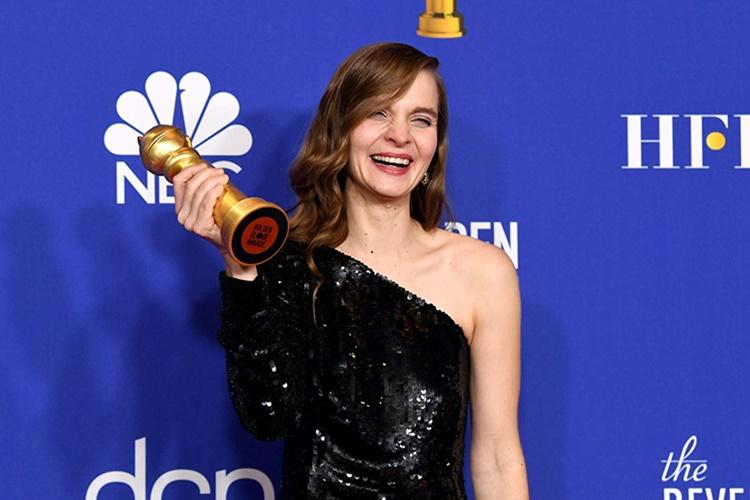 Altın Küre'de ilk defa bir kadın besteci tek başına ödül aldı