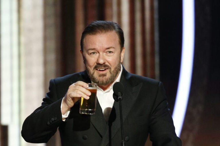 Ricky Gervais'in müthiş Altın Küre konuşması ve diğer 'ünlü' konuşmaları