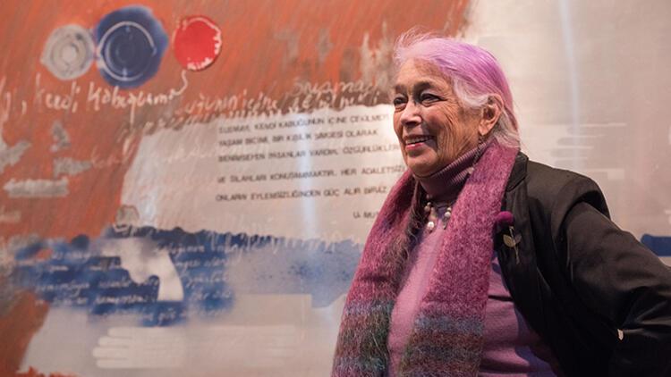 """Tomur Atagök'ün retrospektif sergisi """"Döngüsel İzler"""" Kibele Sanat Galerisi'nde"""