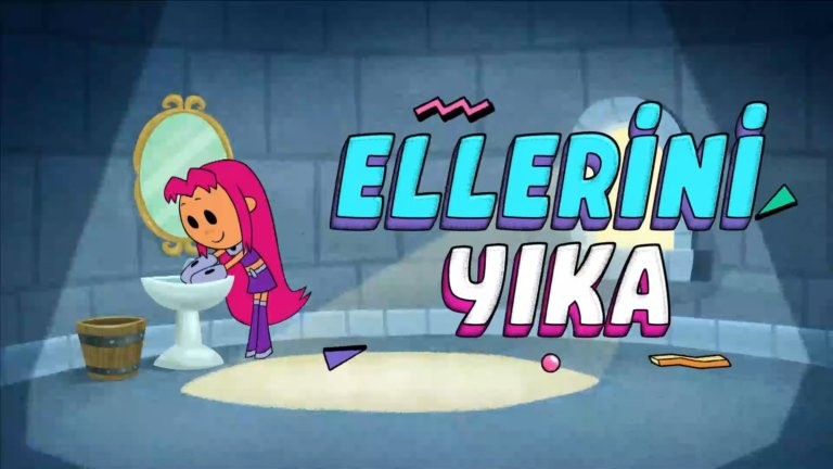 """Cartoon Network'ün çocuklara mesajı """"Temiz Ol, Havalı ol""""!"""