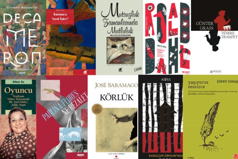 #EvdeKal Yazarların okumak istediği ve senin için önerdiği kitaplara göz at