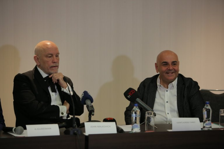 John Malkovich ve Nedim Saban buluşmasında neler oldu?