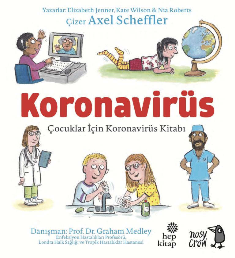 """Ücretsiz """"Çocuklar İçin Koronavirüs Kitabı"""" burada"""