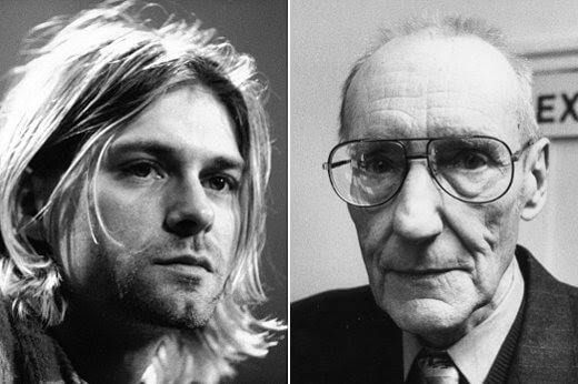 Ölümünün 26. yılında Cobain'i yazar William S. Burroughs ile anmak…