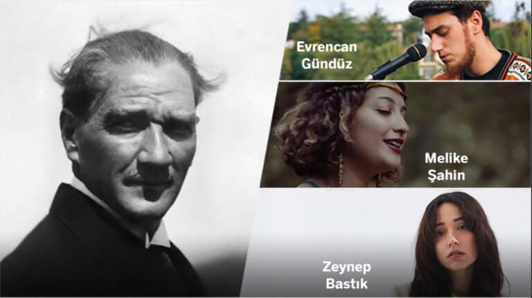 Garanti BBVA 19 Mayıs'ta Atatürk'ü sevdiği şarkılarla anıyor