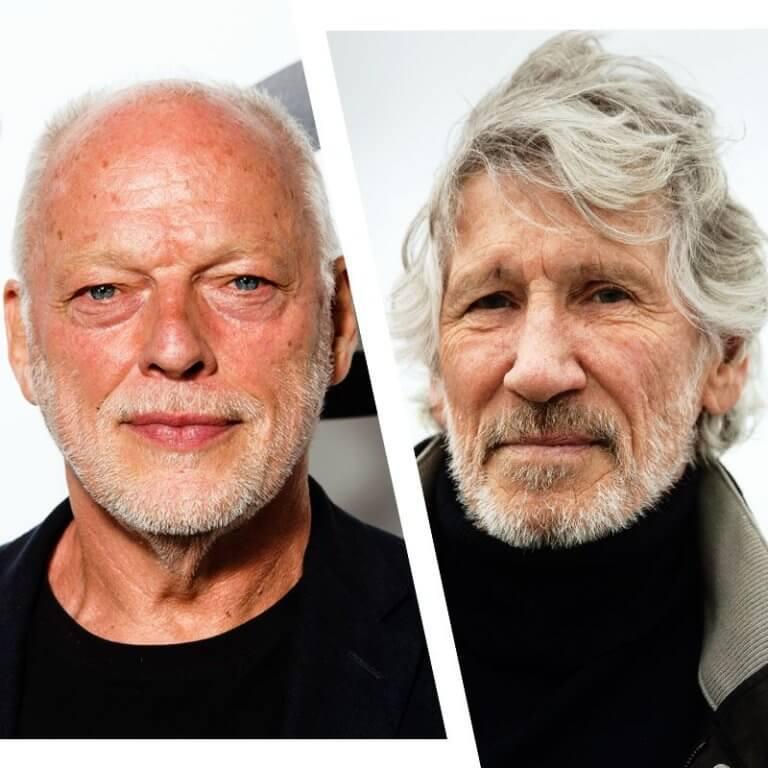 """Roger Waters ve David Gilmour arasındaki """"Duvar"""""""