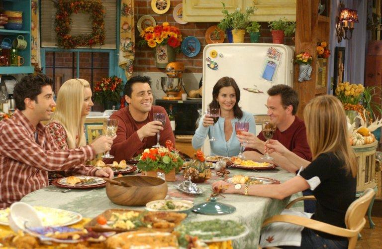 Friends dizisinin yemek kitabı geliyor