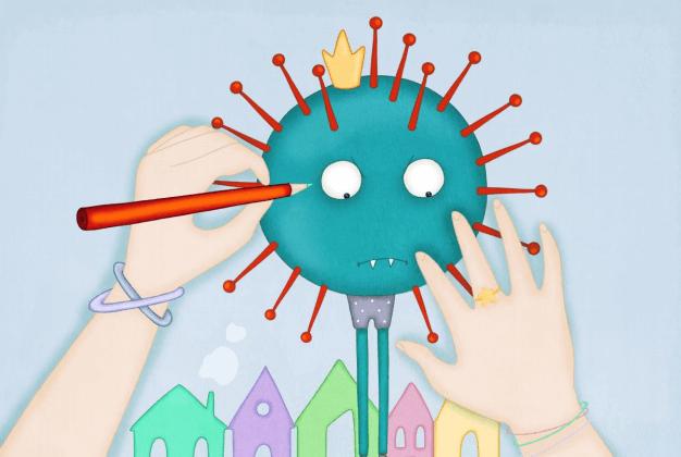 """Çocuklara ücretsiz """"Koronavirüs Öyküsü"""""""