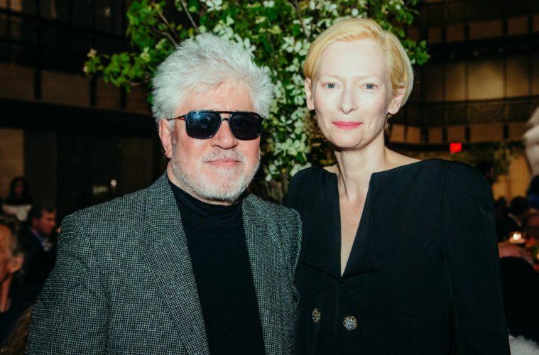Pedro Almodóvar ve Tilda Swinton çekimlere başladı