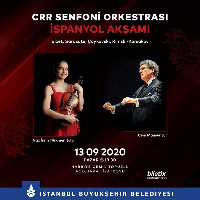 """Cemal Reşit Rey Senfoni Orkestrası ile """"İspanyol Akşamı"""""""