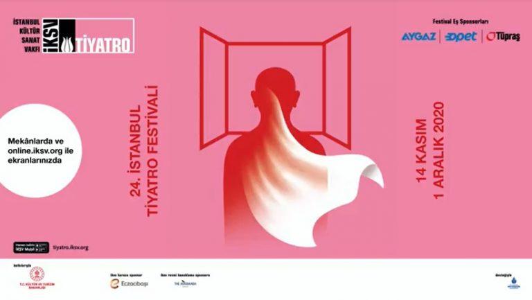 24. İstanbul Tiyatro Festivali hem sahnede hem çevrimiçi